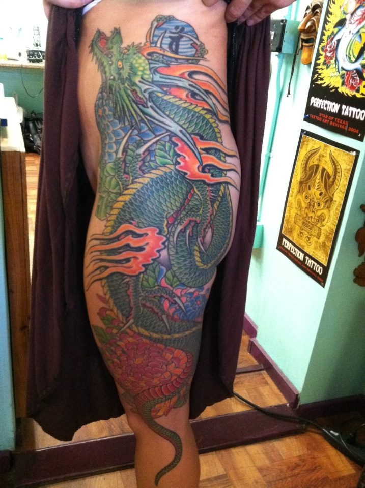 Ancient-Ink-Luar-dragon-leg-tattoo