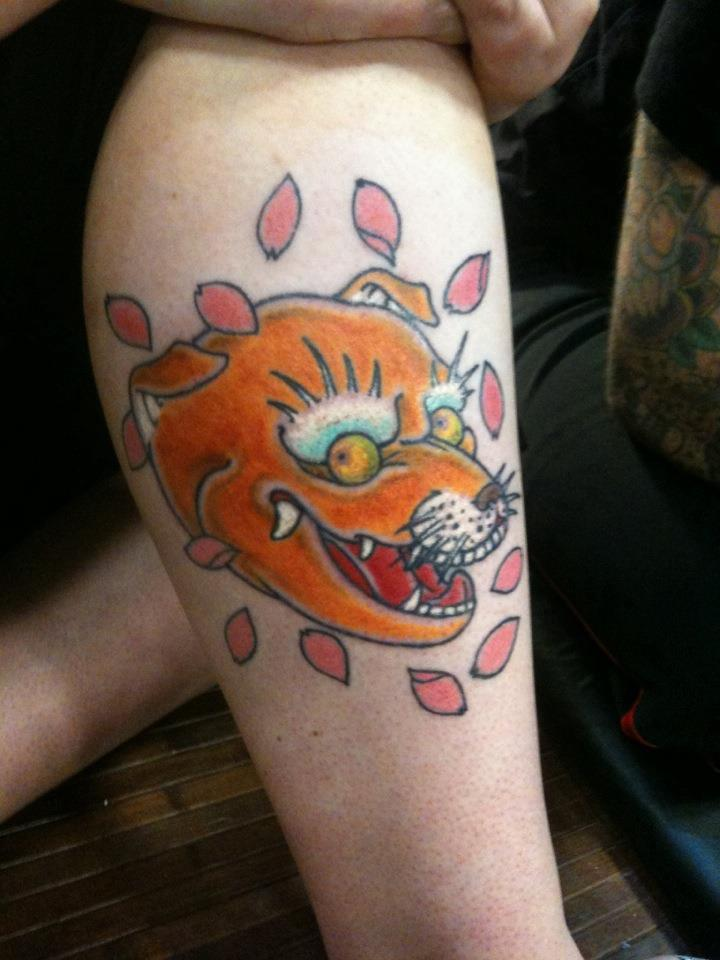 Ancient-Ink-Luar-kitsune-head-tattoo
