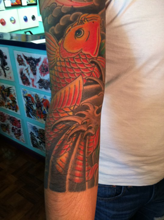 Ancient-Ink-Luar-koi-arm-tatoo