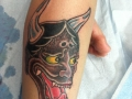 Ancient-Ink-Luar-Japanese-demon-head-tattoo