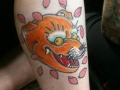 Ancient-Ink-Luar-kitsune-head-tattoo